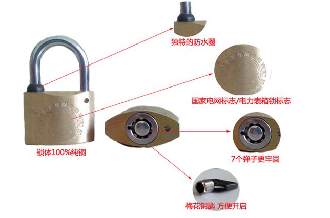 生产原子表箱锁,全铜原子表箱锁,通开表箱锁,电表箱锁,一把钥匙通用锁