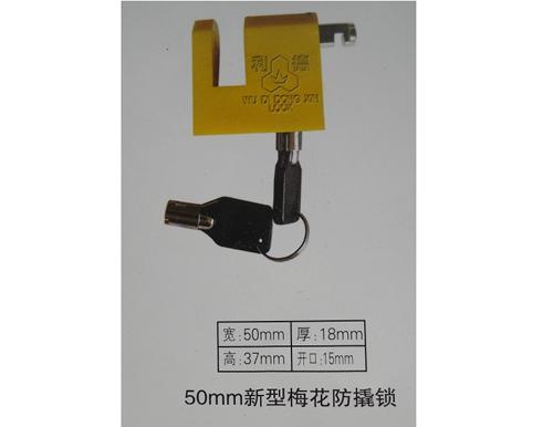 50mm新型梅花防撬表箱挂锁,电力表箱锁厂家,梅花通开表箱锁厂家