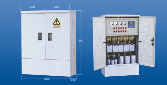 电力LA-1000D型配电箱,落地式电力专用配电箱,玻璃钢电缆分支箱